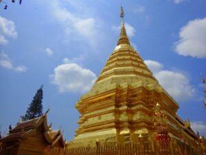 タイ王国の寺院 チェンマイ