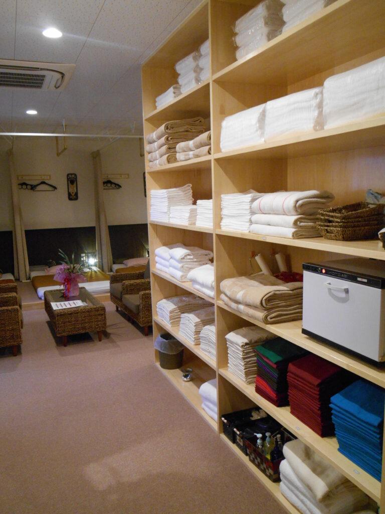 整理整頓清潔清掃状況 鹿嶋市・神栖市のマッサージならシャムの国
