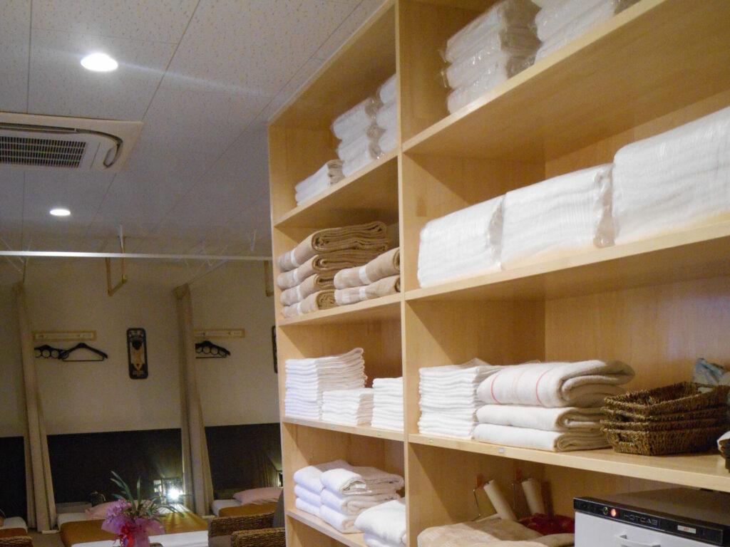 整理整頓清潔清掃状況 鹿嶋市・神栖市のシャムの国|マッサージや整体・リラクゼーションサロン・エステ・もみほぐしファンに人気