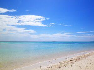 リゾート海岸の風景
